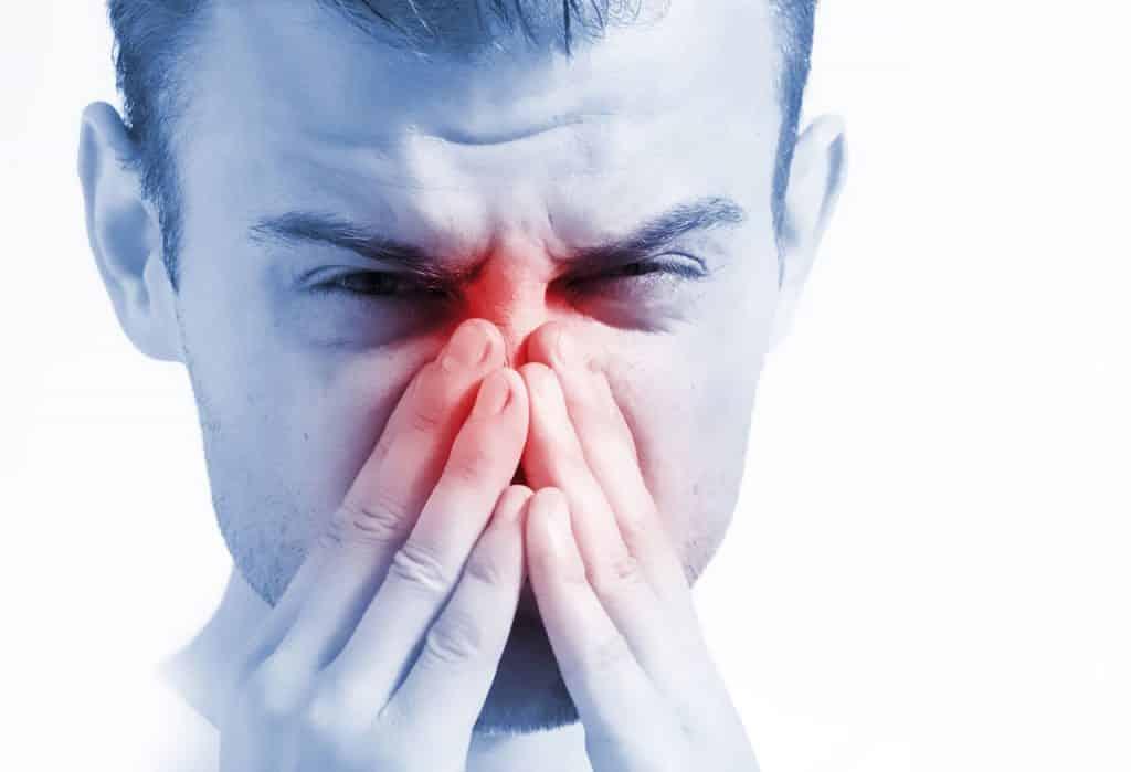 herpès nasal